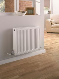 UltraHeat - Single Panel Single Convector - White