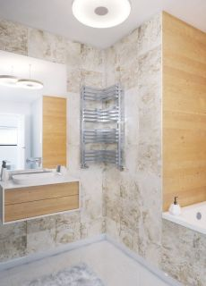 Terma - Incorner Space Saving Towel Radiator