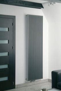 EucoTherm - Atlas Vertical Radiator – Anthracite
