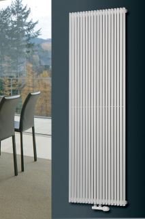 EucoTherm - Corus Single Vertical Radiator - White