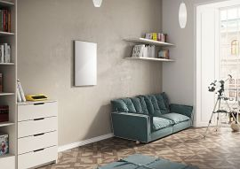 EucoTherm - Glass Infrared Radiator - White