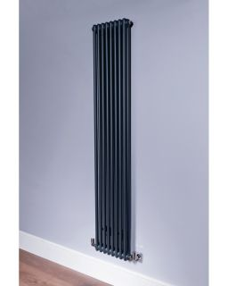 DQ - Ardent 2 Column Vertical Radiator - Anthracite
