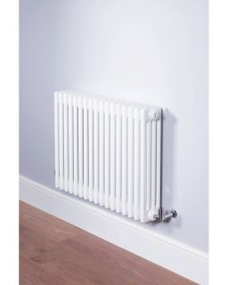 DQ - Ardent 4 Column Horizontal Radiator - White