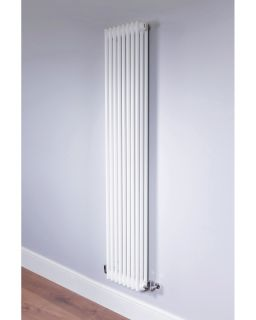 DQ - Ardent 2 Column Vertical Radiator - White