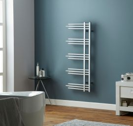 HeatQuick - Hawthorn Towel Radiator - Chrome