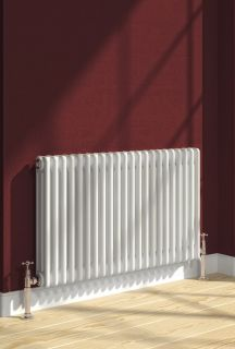 Reina - Colona Horizontal 4 Column - White