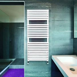 DQ - Cube Towel Radiator - White