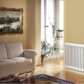 WarmHaus - Chandra 4 Column Horizontal Radiator - White