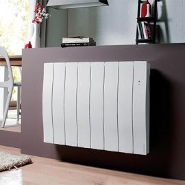 Atlantic Galapagos Horizontal Electric Radiator in white