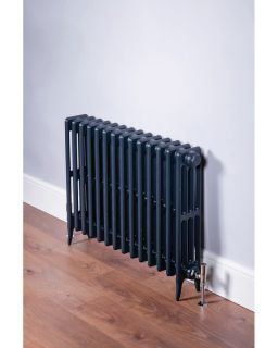 DQ - Hawkshaw 4 Column Horizontal Radiator - Anthracite