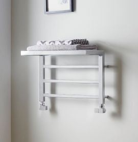 HeatQuick - Spindle Towel Radiator - Chrome