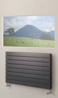 EucoTherm - Mars Duo Horizontal Radiator - Anthracite