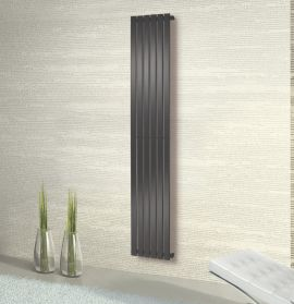 HeatQuick - Spruce Vertical Radiator - Anthracite