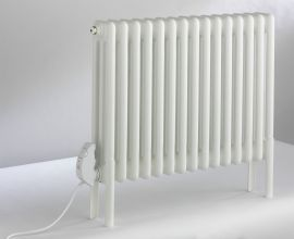 DQ - Peta Electric Radiator (4 Column) - White