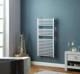 HeatQuick - Maple Vertical Towel Radiator - Chrome