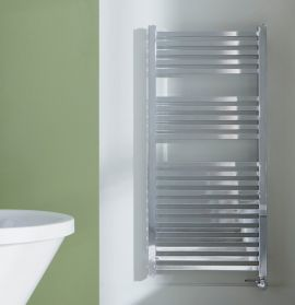 HeatQuick - Maple Thermostatic Towel Radiator - Chrome