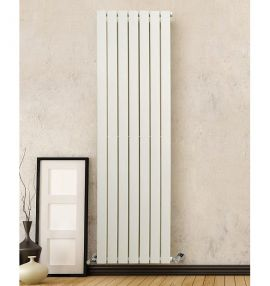 DQ - Tornado Single Vertical Radiator - White