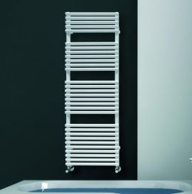 DQ - Vulcano Towel Radiator - White
