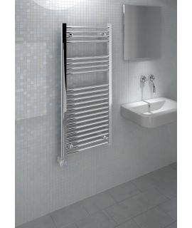 Kudox - Electric Towel Rail Thermostatic - Chrome