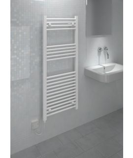 Kudox - Electric Towel Rail Straight LST - White