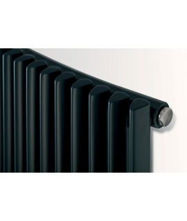 EucoTherm - Corus Curved Vertical Radiator - Anthracite