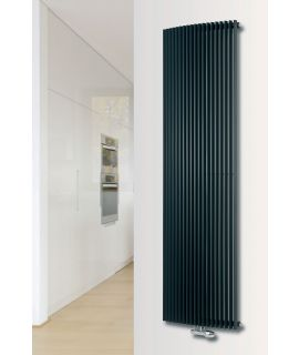 EucoTherm - Corus Single Vertical Radiator - Anthracite