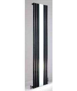 DQ - Cove Vertical Mirror Radiator - Black