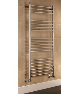 HeatQuick - Macaw Towel Radiator - Stainless Steel