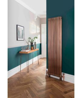 The Radiator Company - Ancona - Galvanised Copper Column Radiator - Vertical
