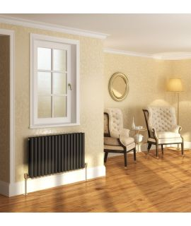 DQ - Cove Double Horizontal Radiator - Anthracite