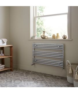 Towelrads - Iridio Horizontal Towel Radiator