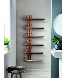 DQ - Jango  - Stainless Steel Towel Radiator - Copper