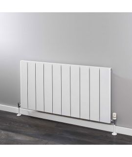 HeatQuick - Sparrowhawk Horizontal Radiator - White