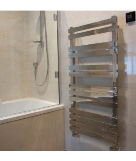 HeatQuick - Cedar Vertical Stainless Steel Towel Radiator