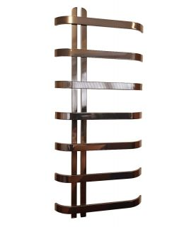 DQ - Rebo Stainless Steel Towel Radiator - Black Nickel Lacquer