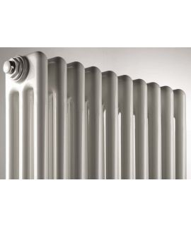 DeLonghi - 3 Column Horizontal White Radiator