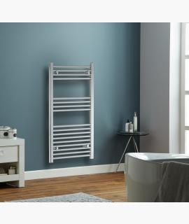 HeatQuick - Kite Flat 22mm Towel Radiator - Chrome
