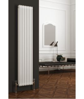Reina - Colona Vertical 3 Column - White