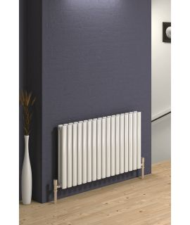 Reina - Neva 2 Column Horizontal Double Convector - White