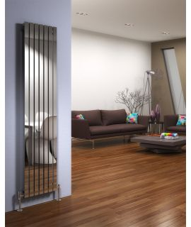 DQ - Delta Vertical Radiator - Polished
