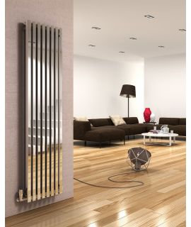 DQ - Dune Vertical Radiator - Polished