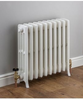 HeatQuick - Merlin Victorian 4 Column Radiator - White