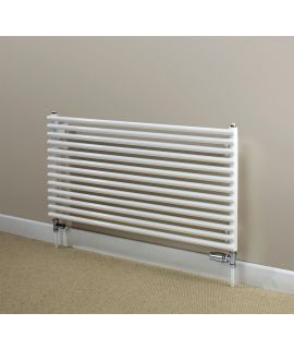 HeatQuick - Peregrine Single Horizontal Radiator - White