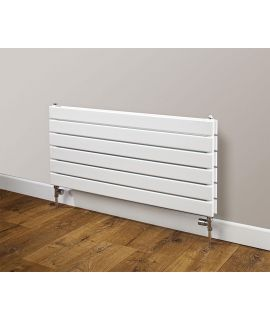HeatQuick - Buzzard Double Horizontal Radiator - White
