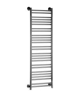 HeatQuick - Stilt Brass Towel Radiator - Chrome
