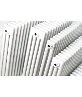 HeatQuick - Coot 3 Column Horizontal Radiator - White