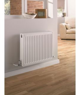 UltraHeat - Double Panel Single Convector - White