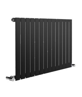 Reina - Neva 2 Column Horizontal Single Convector - Anthracite