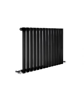DQ - Cove Single Horizontal Radiator - Black