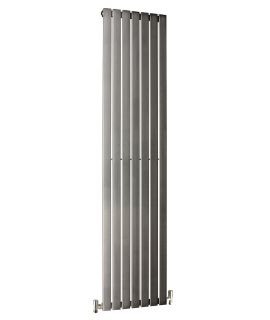 DQ - Delta Vertical  Radiator - Brushed